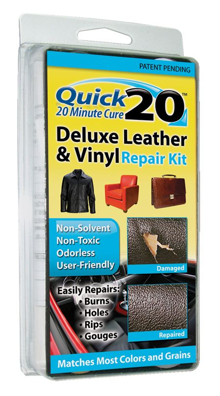 Quick 20 Deluxe Leather And Vinyl Repair Kit Leather And