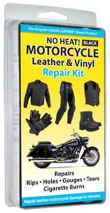 All BLACK No Heat Leather Repair Kit  (Item 30-124)
