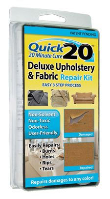 Quick 20 Deluxe Upholstery & Fabric Repair Kit