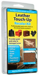 Leather Touch Up Recolor, Restore and Repair